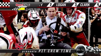 Sport Clips TV Spot, 'Pit Crew' - 86 commercial airings