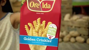 Ore Ida Golden Crinkles TV Spot, 'Justice for Potatoes League' - Thumbnail 4