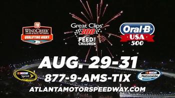 NASCAR Atlanta Motor Speedway TV Spot, '2014 Labor Day Weekend' - Thumbnail 9