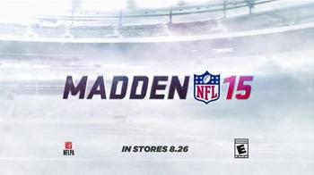 Madden NFL 15 TV Spot, 'Madden Season' Featuring Dave Franco, Kevin Hart - Thumbnail 8