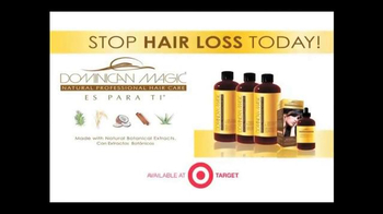 Dominican Magic Natural Professional Hair Care TV Spot - Thumbnail 7