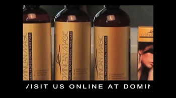 Dominican Magic Natural Professional Hair Care TV Spot - Thumbnail 4