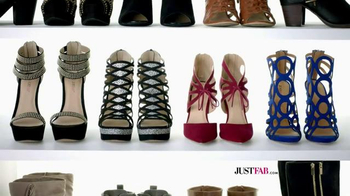 JustFab.com Buy 1 Get 1 Free TV Spot, 'They Aren't Just Shoes' - Thumbnail 4
