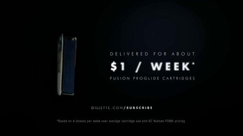 Gillette ProGlide Razor Blade Subscription TV Spot, 'Never Run Out' - Thumbnail 6