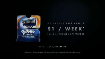 Gillette ProGlide Razor Blade Subscription TV Spot, 'Never Run Out' - Thumbnail 9