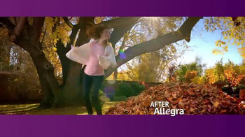 Allegra TV Spot, 'Fall Means Fun' - Thumbnail 3