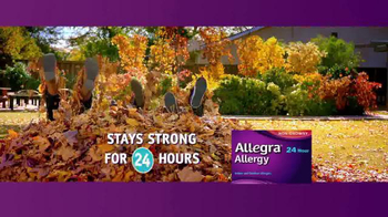 Allegra TV Spot, 'Fall Means Fun' - Thumbnail 8