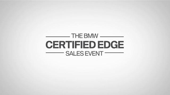 BMW Certified Edge Sales Event TV Spot, 'Decisions' - Thumbnail 9