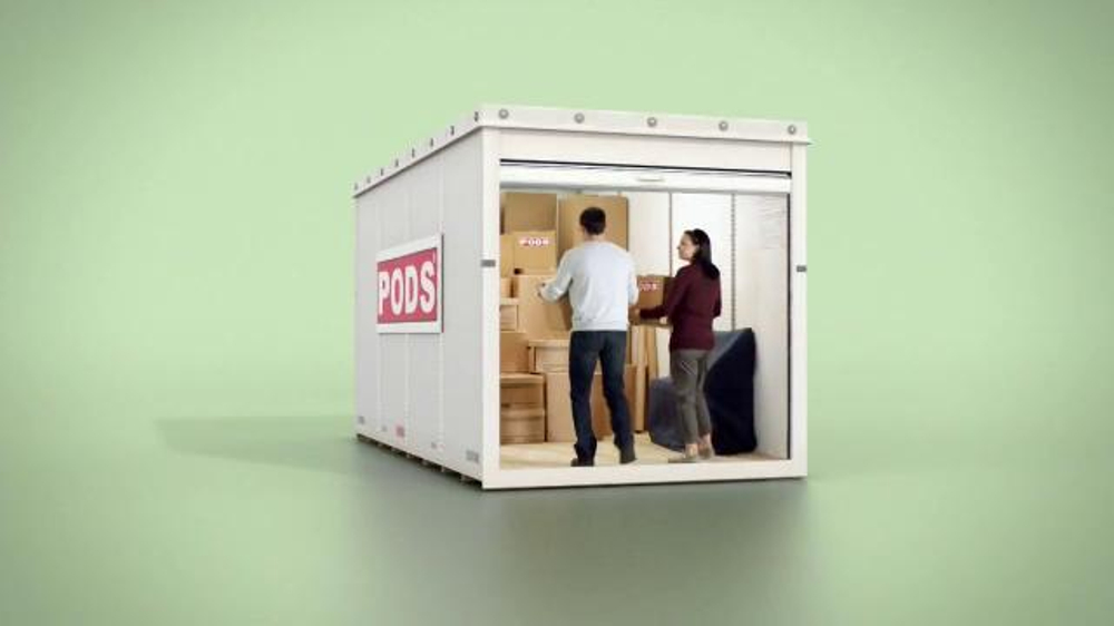 Pods TV Commercial, 'Secure Storage Centers'