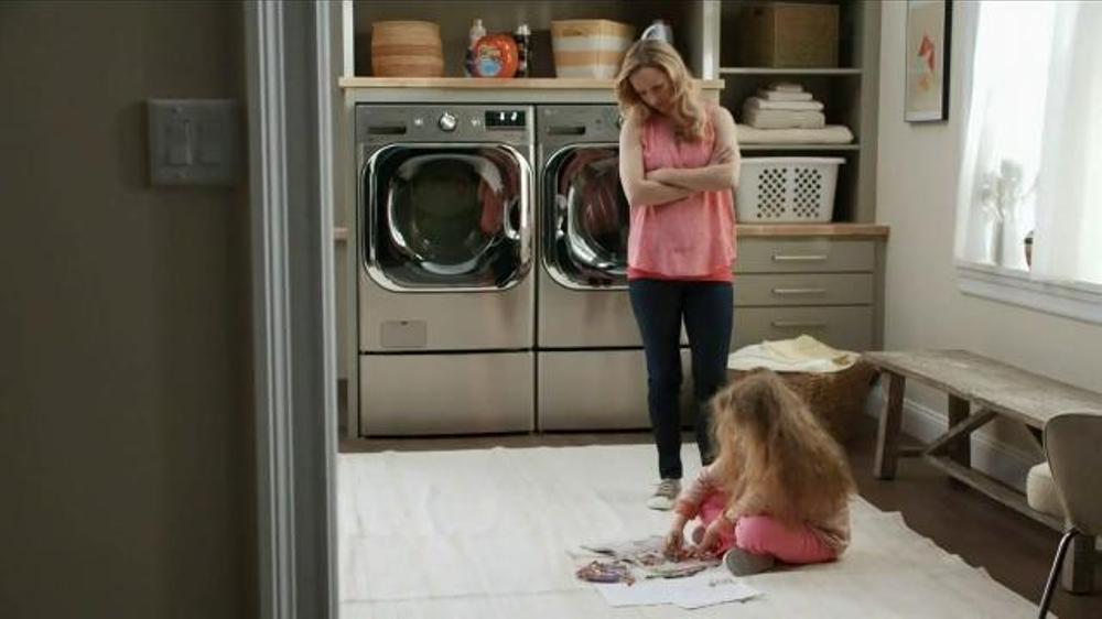 LG Appliances TurboWash TV Commercial, 'Mom Confessions: Sarah's Hair'
