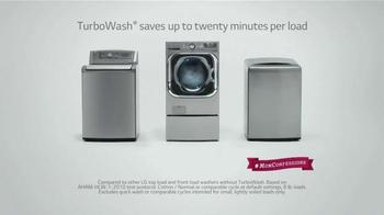 LG Appliances TurboWash TV Spot, 'Mom Confessions: Sarah's Hair' - Thumbnail 7