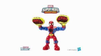 Marvel Super Hero Adventures: Sling Action Spider-Man TV Spot, 'Help Spidey Smash' - Thumbnail 10