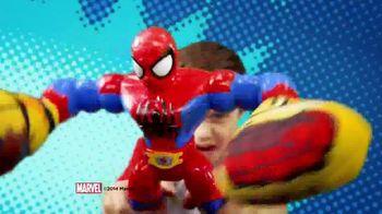 Marvel Super Hero Adventures: Sling Action Spider-Man TV Spot, 'Help Spidey Smash' - Thumbnail 2