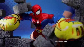 Marvel Super Hero Adventures: Sling Action Spider-Man TV Spot, 'Help Spidey Smash' - Thumbnail 7