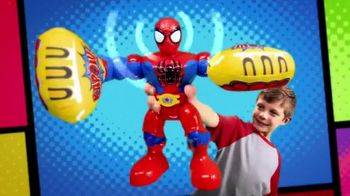 Marvel Super Hero Adventures: Sling Action Spider-Man TV Spot, 'Help Spidey Smash'