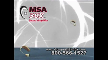 MSA 30X TV Spot [Spanish] - Thumbnail 6