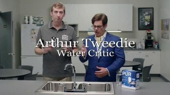 PUR Faucet Water Filter TV Spot, 'Dave Installs a Faucet Filter' - 6374 commercial airings
