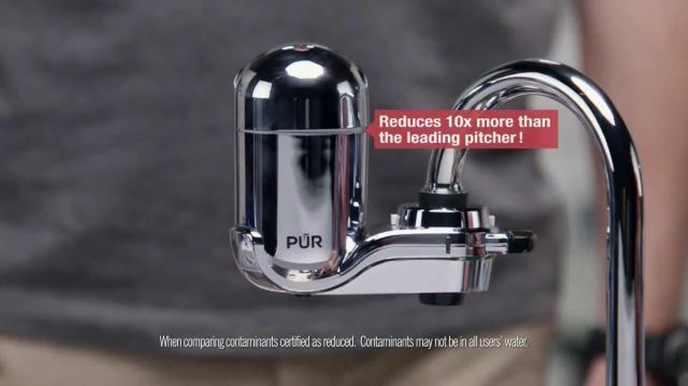 Pur Faucet Water Filter Tv Commercial Dave Installs A