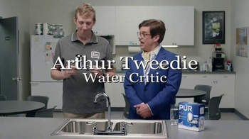 PUR Faucet Water Filter TV Spot, 'Dave Installs a Faucet Filter' - Thumbnail 1