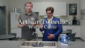 PUR Faucet Water Filter TV Spot, 'Dave Installs a Faucet Filter'