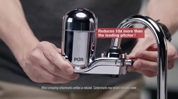 PUR Faucet Water Filter TV Spot, 'Dave Installs a Faucet Filter' - Thumbnail 3
