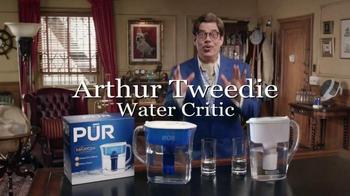 PUR Water TV Spot, 'Home Comparison by Arthur Tweedie' - Thumbnail 1