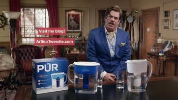 PUR Water TV Spot, 'Home Comparison by Arthur Tweedie' - Thumbnail 10