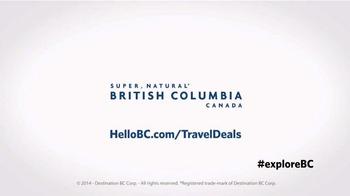 Destination BC TV Spot, 'Seize the Weekend' - Thumbnail 9