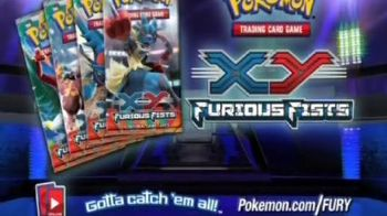 Pokemon X&Y Trading Card Game TV Spot, 'Furious Fists' - Thumbnail 10