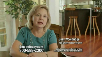 Empire Today Buy One Get One Free Sale TV Spot, 'Suzy Wooldridge' - Thumbnail 1
