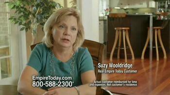 Empire Today Buy One Get One Free Sale TV Spot, 'Suzy Wooldridge' - Thumbnail 2
