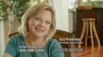 Empire Today Buy One Get One Free Sale TV Spot, 'Suzy Wooldridge'