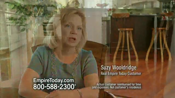 Empire Today Buy One Get One Free Sale TV Spot, 'Suzy Wooldridge' - Thumbnail 4