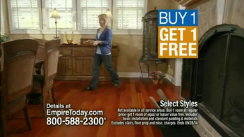 Empire Today Buy One Get One Free Sale TV Spot, 'Suzy Wooldridge' - Thumbnail 6