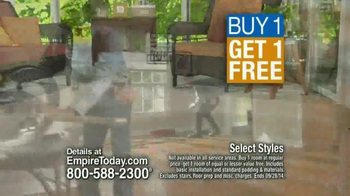 Empire Today Buy One Get One Free Sale TV Spot, 'Suzy Wooldridge' - Thumbnail 8
