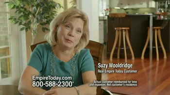 Empire Today Buy One Get One Free Sale TV Spot, 'Suzy Wooldridge' - Thumbnail 9