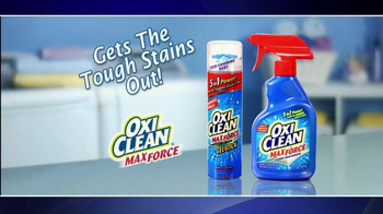 OxiClean MaxForce TV Spot, '5 in 1 Power' - Thumbnail 8