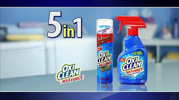 OxiClean MaxForce TV Spot, '5 in 1 Power' - Thumbnail 2