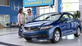 Honda Civic Summer Clearance Event TV Spot, 'Beth' - Thumbnail 7