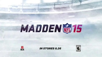 Madden NFL 15 TV Spot, 'The Stare' Featuring Dave Franco, Kevin Hart - Thumbnail 9