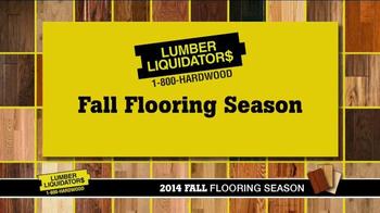 Lumber Liquidators 2014 Fall Flooring Season TV Spot - Thumbnail 3
