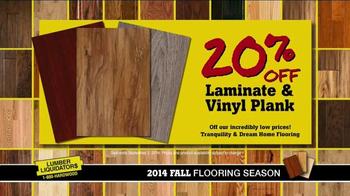 Lumber Liquidators 2014 Fall Flooring Season TV Spot - Thumbnail 8