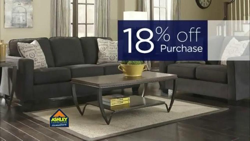 Ashley Furniture Homestore Pre Labor Day Sale Tv Commercial 39 18 Off 39