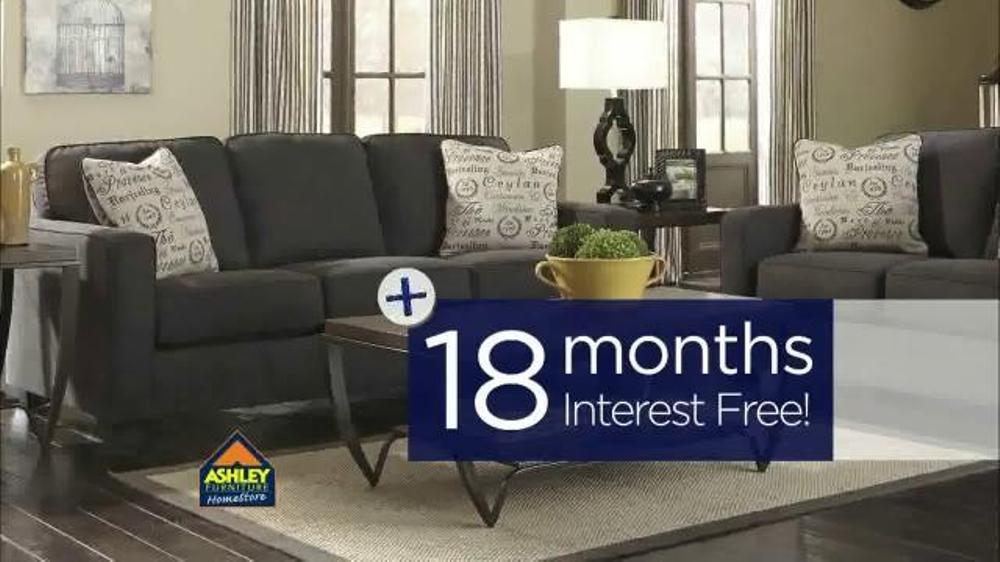 ashley furniture homestore pre labor day sale tv commercial 39 18 off 39. Black Bedroom Furniture Sets. Home Design Ideas