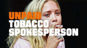 Truth TV Spot, 'Unpaid Tobacco Spokesperson' Song by Dominique Young Unique - Thumbnail 8