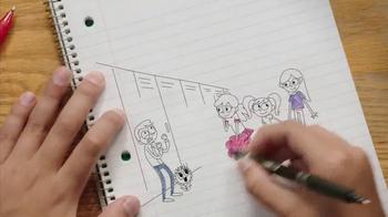 FriXion Clicker TV Spot, 'Josh' - Thumbnail 7