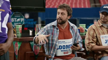NFL Fantasy Football TV Spot, 'Thumb Cramp' Featuring Cordarrelle Patterson - Thumbnail 5