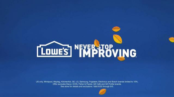 Lowe's TV Spot, 'Washing Machine Silver Lining' - Thumbnail 10