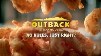 Outback Steakhouse Steak & Unlimited Shrimp TV Spot - Thumbnail 9
