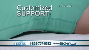 BedRenu TV Spot, 'Your Custom Sleep Support System' - Thumbnail 5